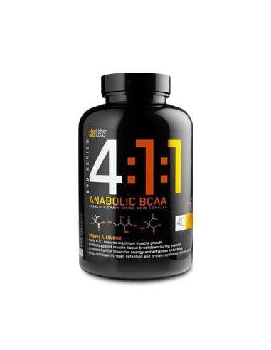 4:1:1 Anabolic BCAA´S  100 Caps - Starlabs
