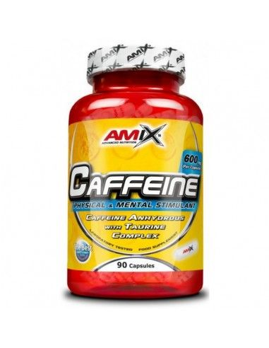 Caffeine 200 Mg With Taurine 90 Caps - AMIX