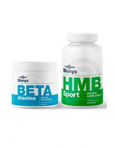 PACK Beta Alanine + HMB Sport Blonyx