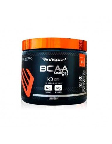 BCAA Leucina+ 8:1:1 Polvo 200 Gr - Infisport