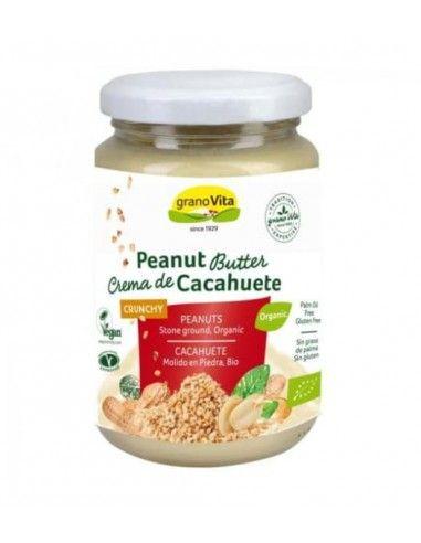 Crema de Cacahuete Crunchy Bio 350 Gr - Granovita