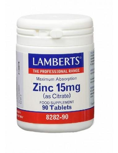 Zinc 15Mg 90 Tab - Lamberts