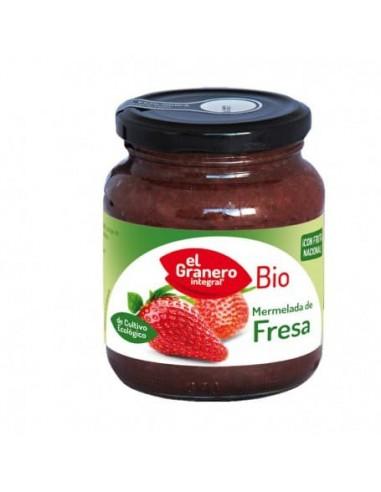 Mermelada de Fresa Bio 330 Gr - El Granero