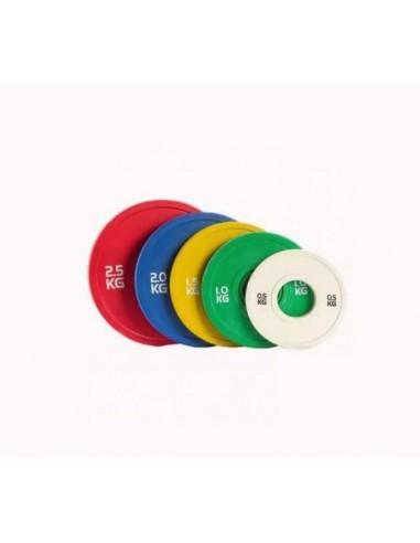 Discos Bumper Color Fraccionados