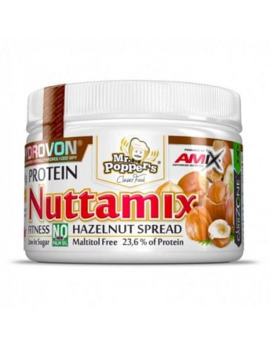 Crema Proteica de Avellanas Nuttamix 250 gr - Amix