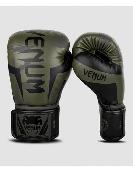 Guantes de Boxeo Venum Elite - Camo Kaki