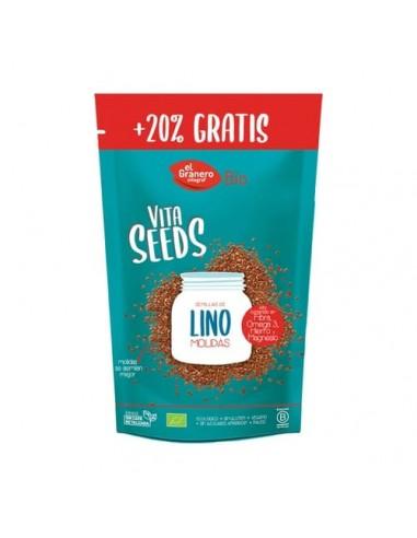 Semillas de Lino Molido Bio Vitaseed 300 Gr