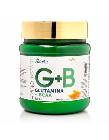 Bcaa + Glutamina 500Gr - QNS