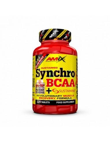 Synchro Bcaa + Sustamine 120 Tabs - Amix