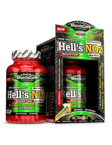 Musclecore DW Hells NO2 100 Caps - AMIX