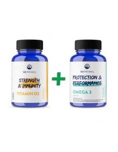Vitamin D3 + Pure Omega 3 - Go Primal