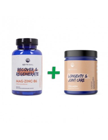 Magnesio Zinc B6 + Colágeno con Vitamina C