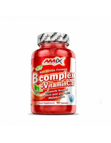 B-Complex + Vitamina C y E - 90 Cap. - Amix