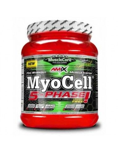 Musclecore Myocell 5 Phase 500 Gr - AMIX