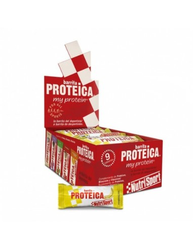 Caja de Barritas Proteicas - Nutrisport