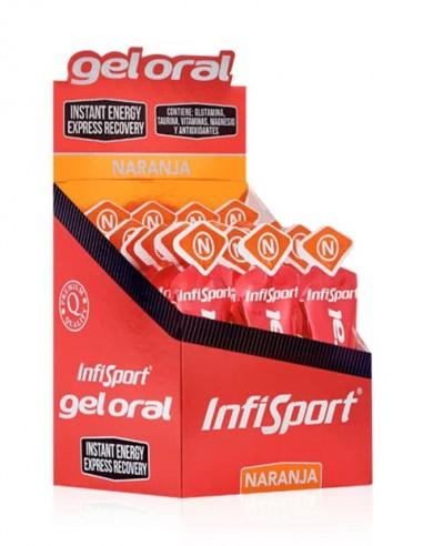 Gel Oral 12 Sobres Naranja 20 Gr - InfiSport