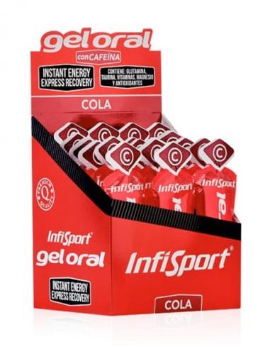 Gel Oral 12 Sobres Cola 20 Gr - InfiSport