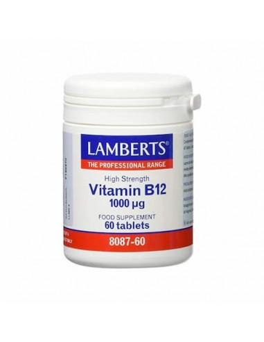 Vitamina B12 1.000 mcg. 60 comp - Lamberts