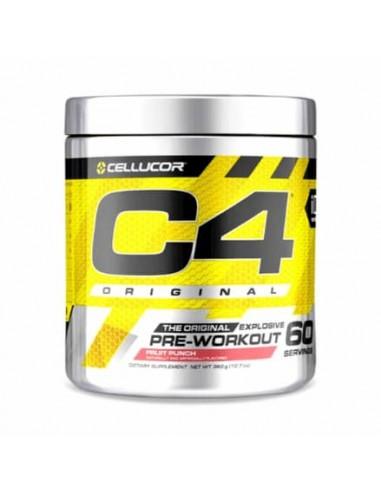 C4 Original 60 Serv. 390g: Pre-Entrenamiento y Pre-Workout