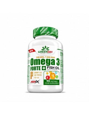 Omega3 FORTE GreenDay  90 cap - Amix