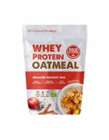 Whey Protein Oatmeal 300g - GoldNutrition