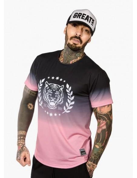 Camiseta Manga Corta Pink Sky