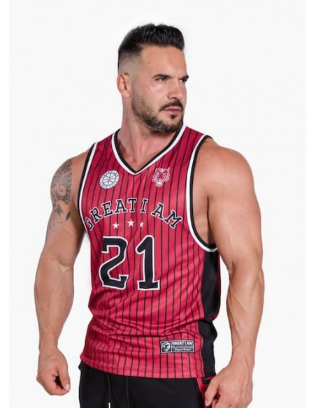 Basketball Jersey All-Star Athlete Red