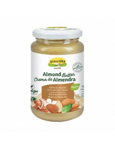 Crema de Almendras Bio Granovita 350g