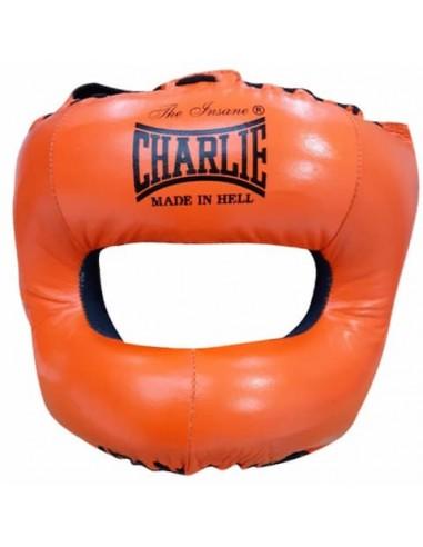 Casco Barra M Orange - Charlie