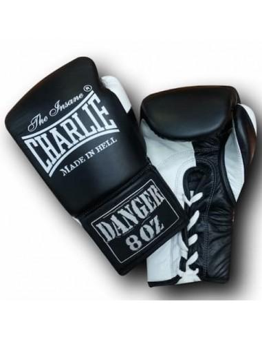 Guantes de Boxeo Danger - Charlie negro-blanco