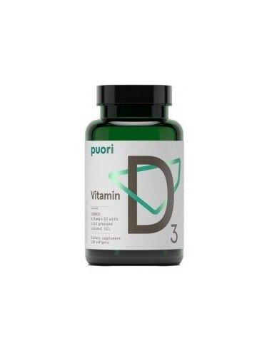 Vitamina D3 120 caps - Puori