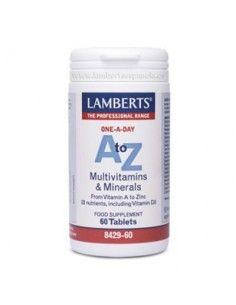 A to Z Multivitamins & Minerals 60 T - Lambrerts