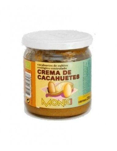 Crema de Cacahuetes Monki 330 Gr