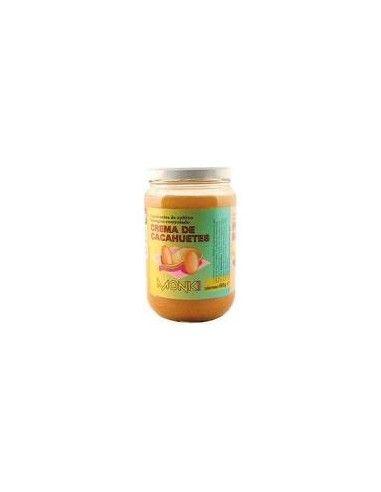 Crema de Cacahuetes Monki 650 Gr