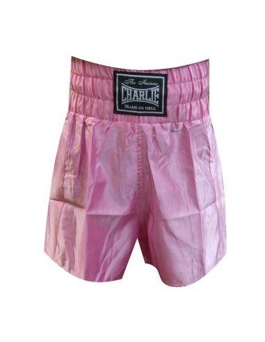 Pantalon Liso Boxeo Chica - Charlie