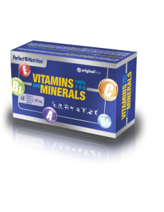 Vitamins & Minerals 100% 60 Caps