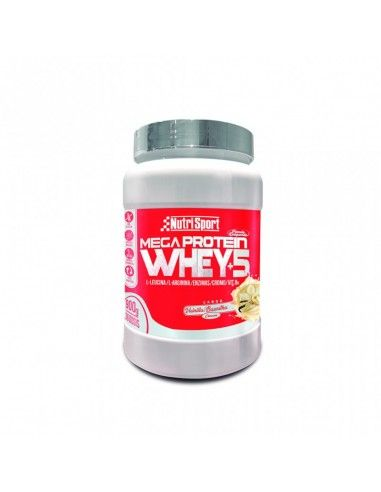 Mega Protein Whey+5 900 Gr -NutriSport