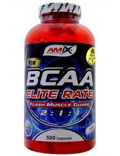 Bcaa Elite Rate 500 Caps - AMIX