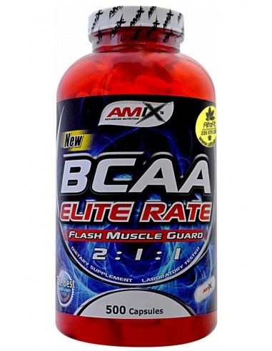 Bcaa Elite Rate 500 Caps - AMIX
