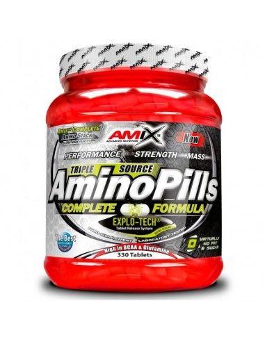 Amino Pills 330 Tabs - AMIX