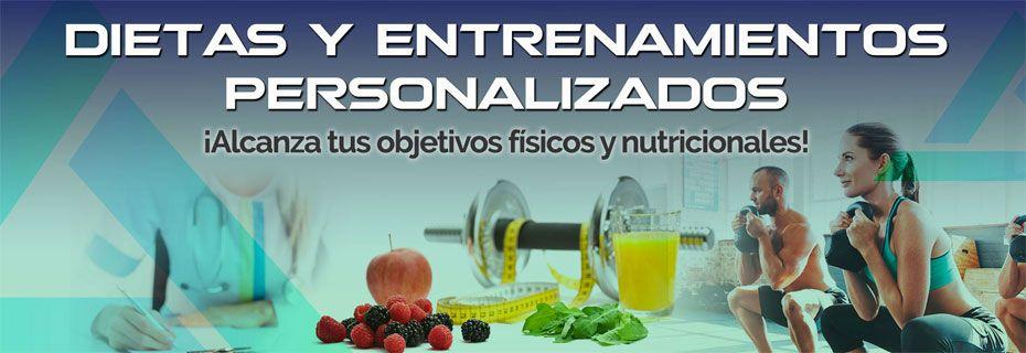 Dietas y Entrenamientos Personalizados