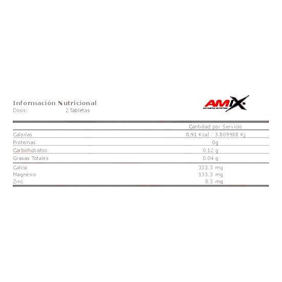 Calcio amix 100 capsulas info