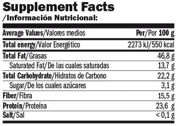 Crema Proteica de Avellanas Nuttamix 250 Gr - Amix info