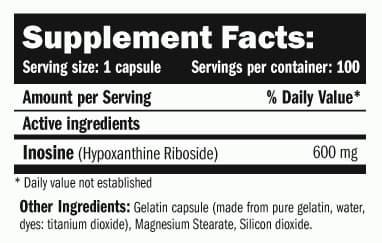 Inosine 100 caps - Amix info