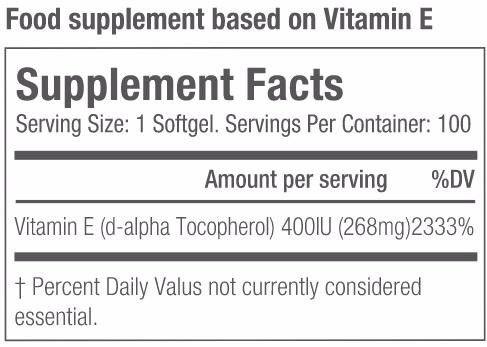 Vitamina E info
