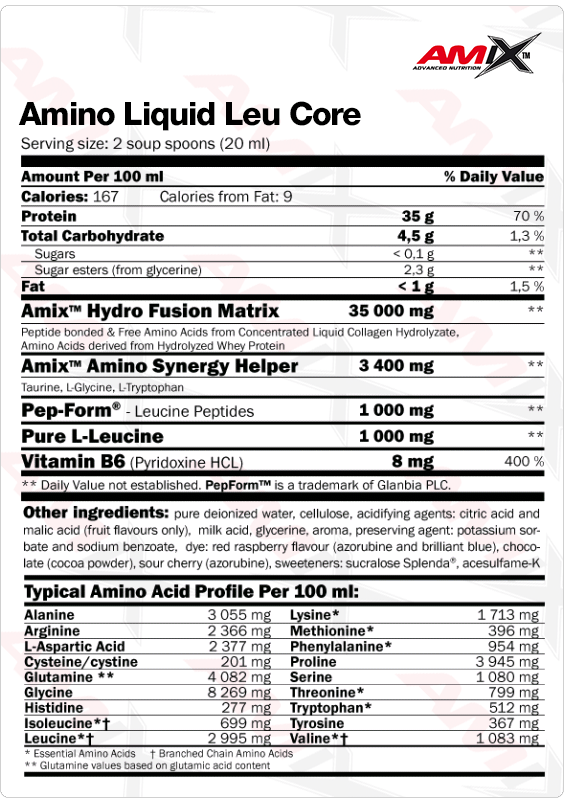 Amino Liquid info
