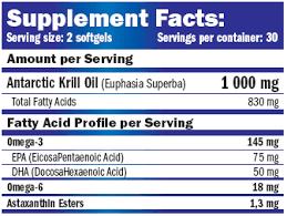 Krill Oil 1000Mg 60 Caps - Amix | Aceites de krill | Ácidos grasos
