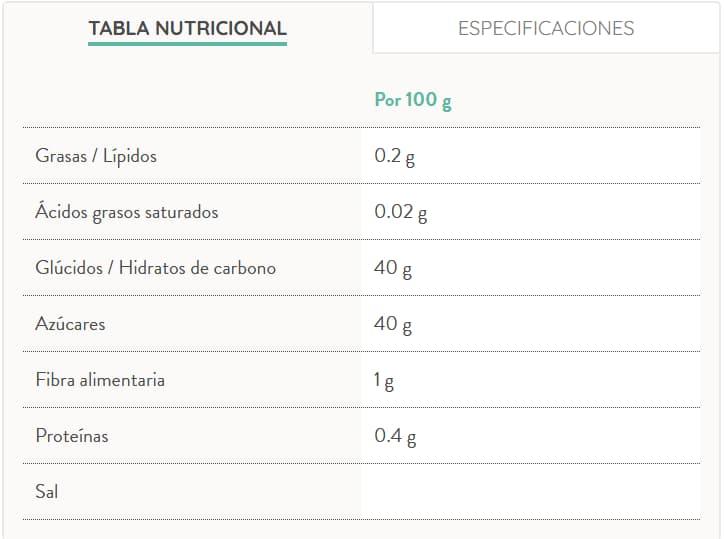 Mermelada de Fresa Bio 330 Gr - El Granero info
