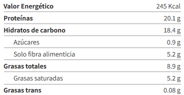 Barritas ZERO HERO 31% Protein Bar - Amix info