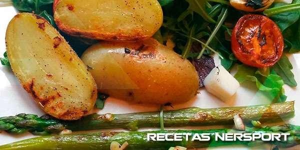 Ensalada de patata y brotes
